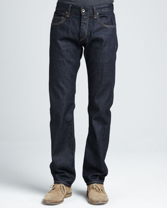 Dark-Rinse Selvedge Jeans