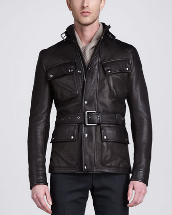 Circuitmaster Four-Pocket Leather Jacket