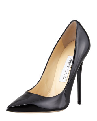 Anouk Patent Point-Toe Pump