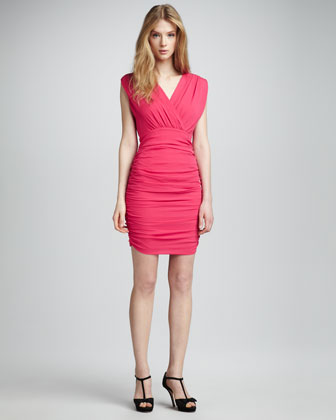 Nanette Ruched Dress