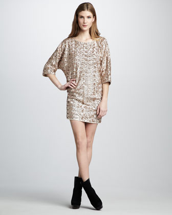 Tinsley Sequined Dress