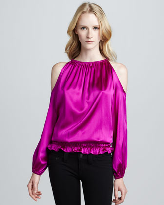 Lauren Cold-Shoulder Top