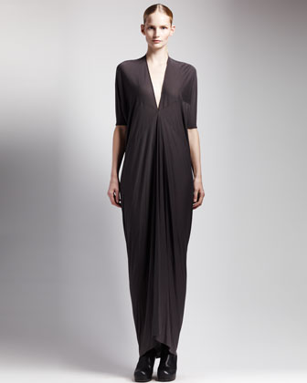 Women's Rick Owens Jersey Kite Maxi Dress