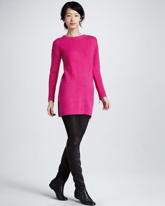 Moritz Long-Sleeve Sweater Dress