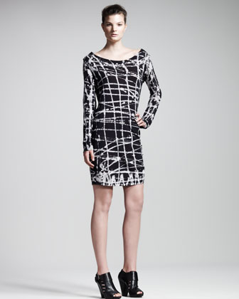 Alvarado Printed Dress