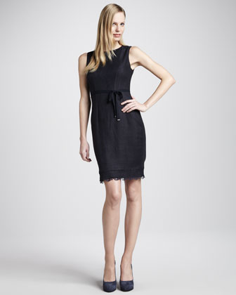 Emory Lace-Hem Dress