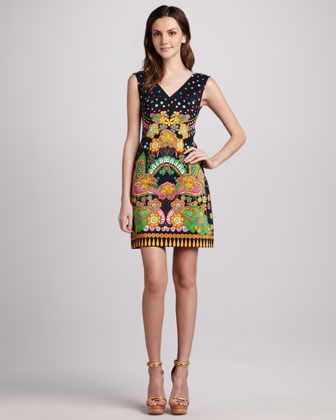 Sweet Jane Printed Dress