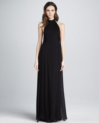 Daller Halter Maxi Dress
