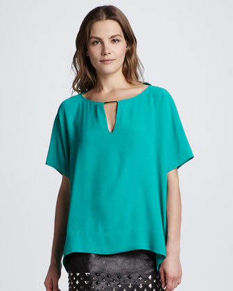 Beonica Draped Top
