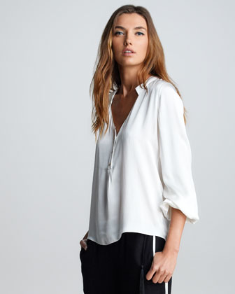 Tabitha Silk Blouse