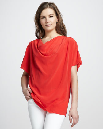 Gjelina Cowl-Neck Top