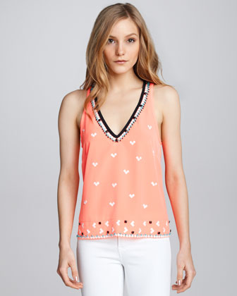 Sweet Connection Beaded Top