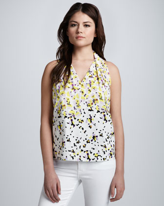 Reagan Printed Top