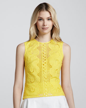 Tranquil Sleeveless Lace Top