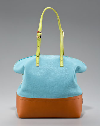 2Bag Colorblock Tote
