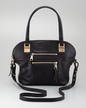 Angie Large Shoulder Bag, Black