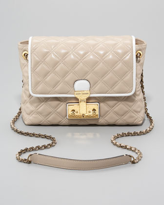 The Single Baroque Two-Tone Quilted Bag, Large