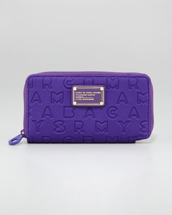 Dreamy Logo Zip Slim Wallet