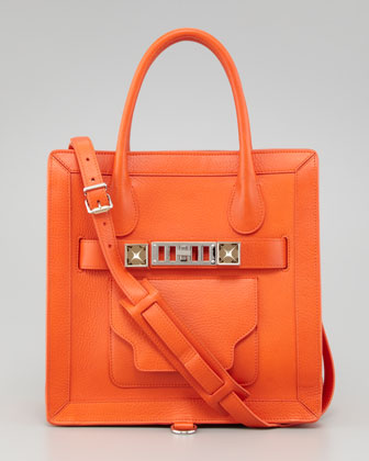 PS11 Small Tote Bag, Orange