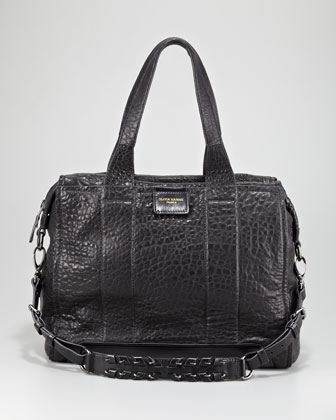 Iggy Textured Satchel Bag