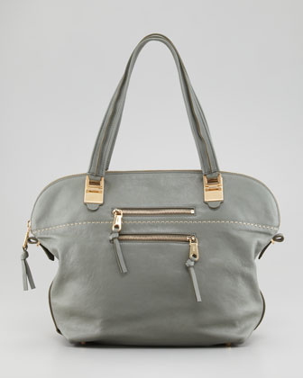 Angie Large Shoulder Bag, Toscano Cypress