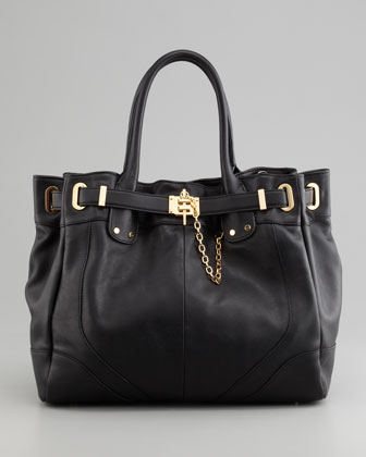 Zoe Deux Tote Bag, Black