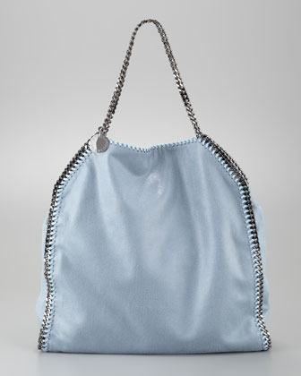 Falabella Tote Bag, Duck Blue