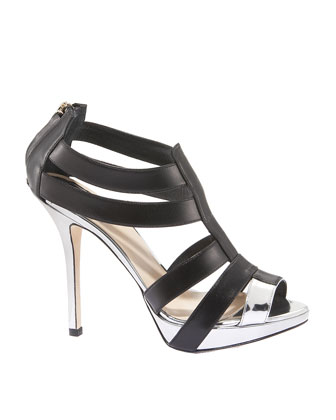 Christian Dior Two-Tone Strappy Bootie :  women womens shoes shoes