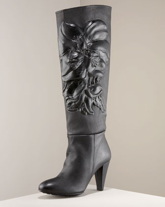 Orchid High-Heel Boot by Maloles