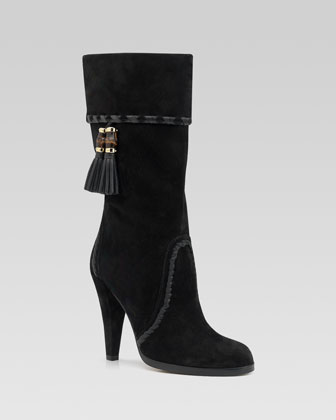 Gucci Janis High-Heel Boot