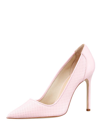 BB Perforated Patent Pump, Pink