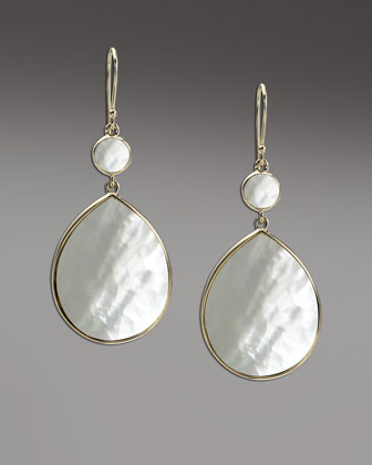 Rock Candy Mother-of-Pearl Earrings