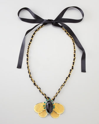 Butterfly Necklace, Long