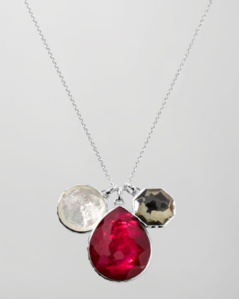 Three-Pendant Necklace, 32