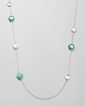 Wonderland Lollipop Station Necklace, 40